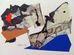 Decoupage X - Original Screen Print - 1996