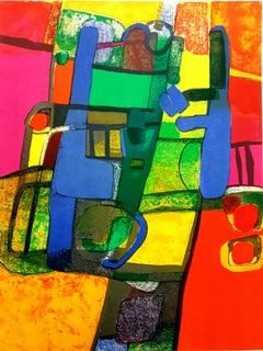 Maurice Estève - Composition - Original Lithograph