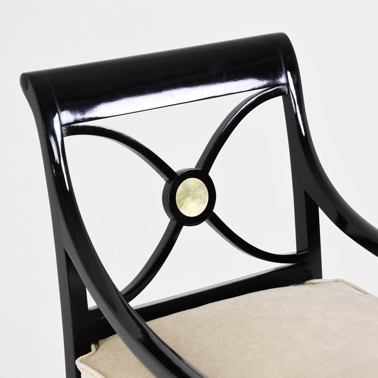 Maurice Hirsch Armchair, France, 1940s In Excellent Condition For Sale In Greding, DE