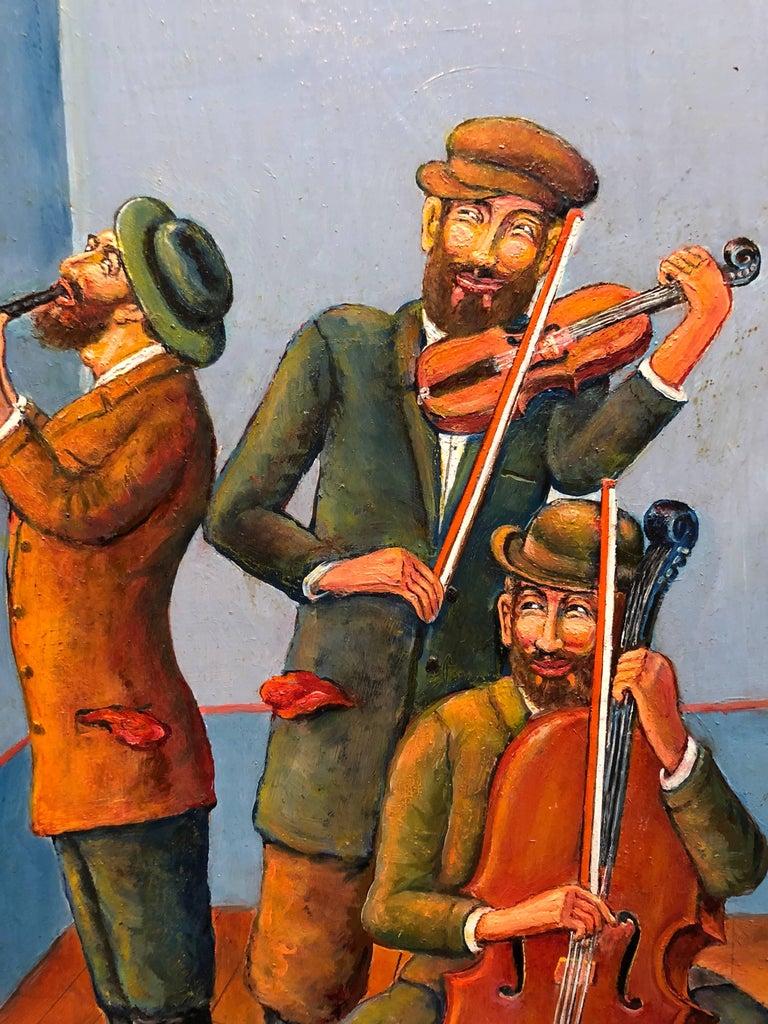 Maurice Kish Three Klezmer Musicians Modern Judaica