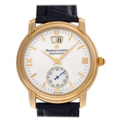 Maurice Lacroix Grand Guichet 58788, Gold Dial, Certified