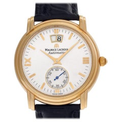 Maurice Lacroix Grand Guichet 58788, White Dial, Certified