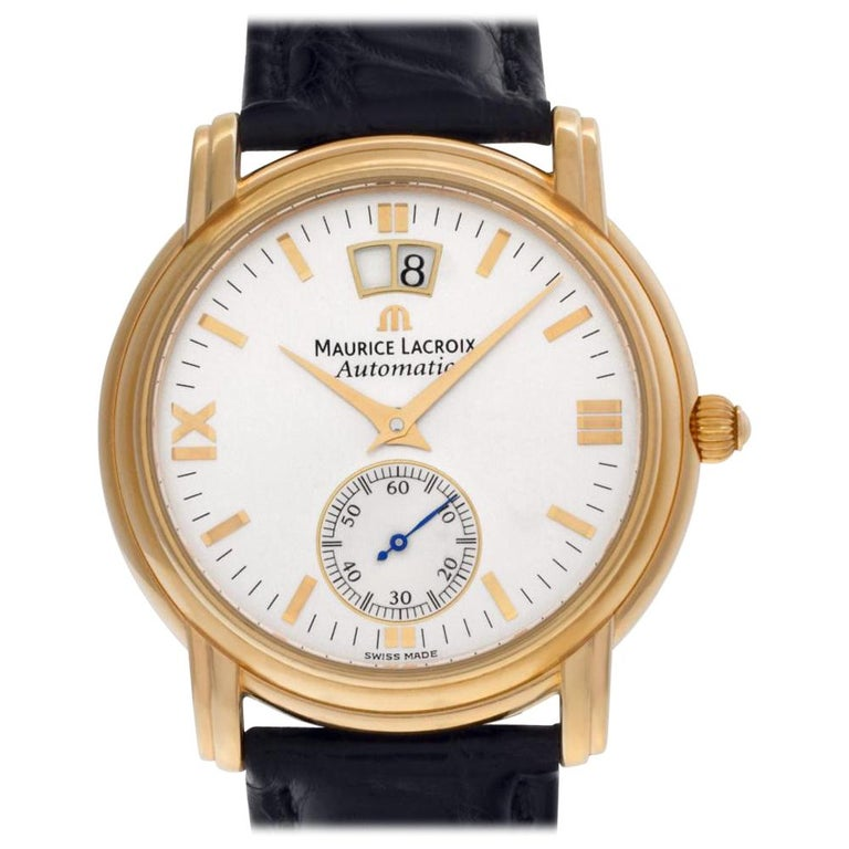 Maurice Lacroix Grand Guichet 58788, White Dial, Certified For Sale