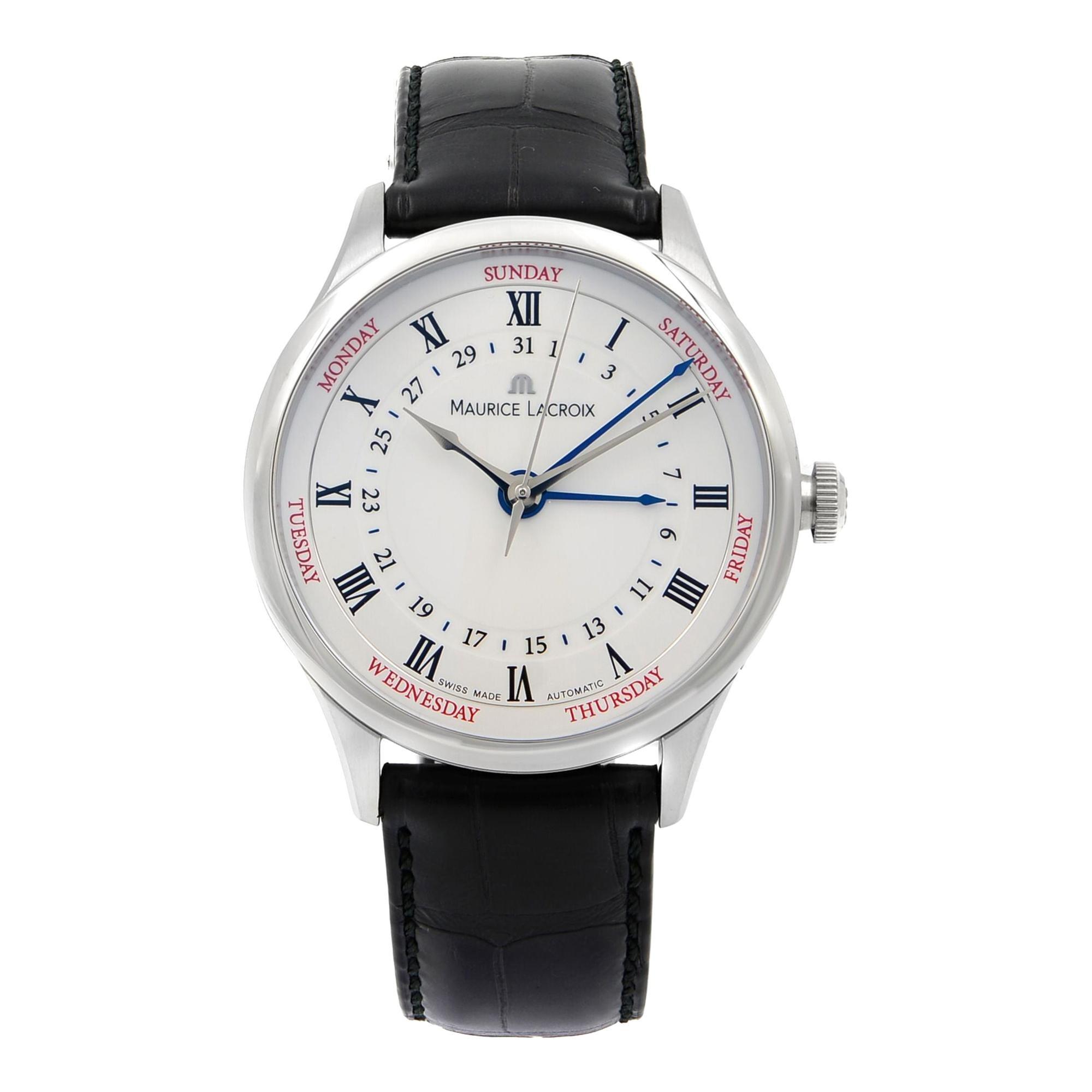 Maurice Lacroix Ss001 Masterpiece Steel 112 Cinq Watch Aiguilles Men's Mp6507 tQsrdh
