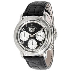 Maurice Lacroix Masterpiece Flyback MP6098-SS001-39E Men's Watch in Stainless