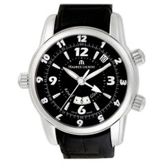 Maurice Lacroix Masterpiece MP6388, Black Dial, Certified