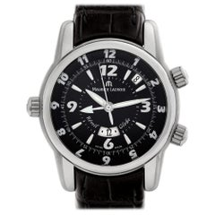 Maurice Lacroix Masterpiece MP6388, Black Dial, Certified &