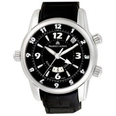 Maurice Lacroix Masterpiece MP6388, Black Dial