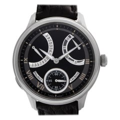 Maurice Lacroix Masterpiece MP7268-SS001-110, Black Dial