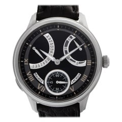 Maurice Lacroix Masterpiece MP7268-SS001-110 Black Dial