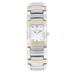 Maurice Lacroix Miros Integral Two-Tone 18K Gold Steel Ladies Watch MI2012-YS10
