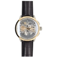 Maurice Lacroix Mixed Metals Skeleton Luxury Watch