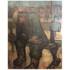 """Maurice Montet Work """"Lassitude"""""""