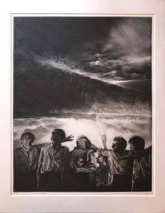 Attraction No. 5, mezzotint by Maurice Pasternak