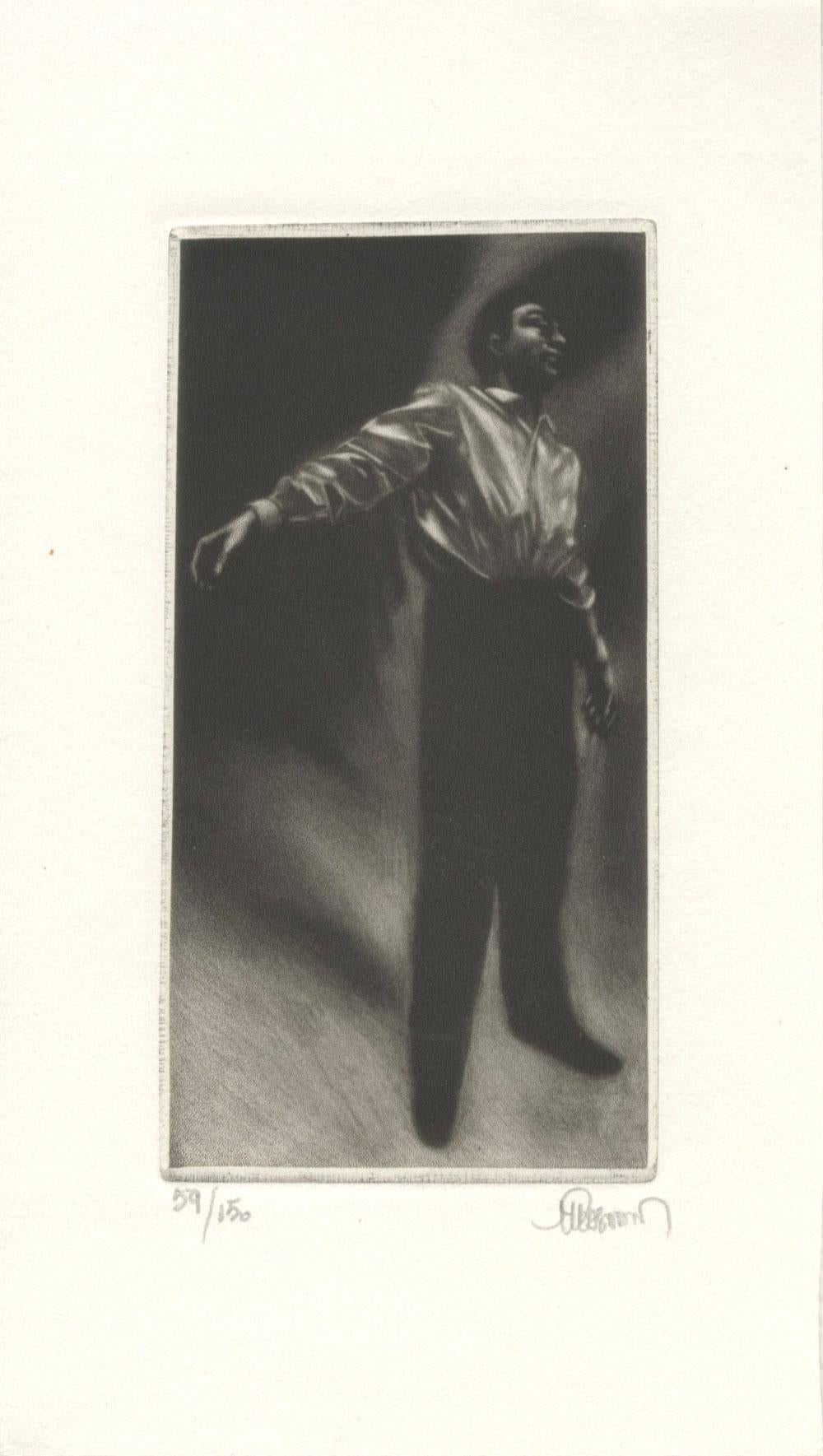 Man with Outstretched Arms