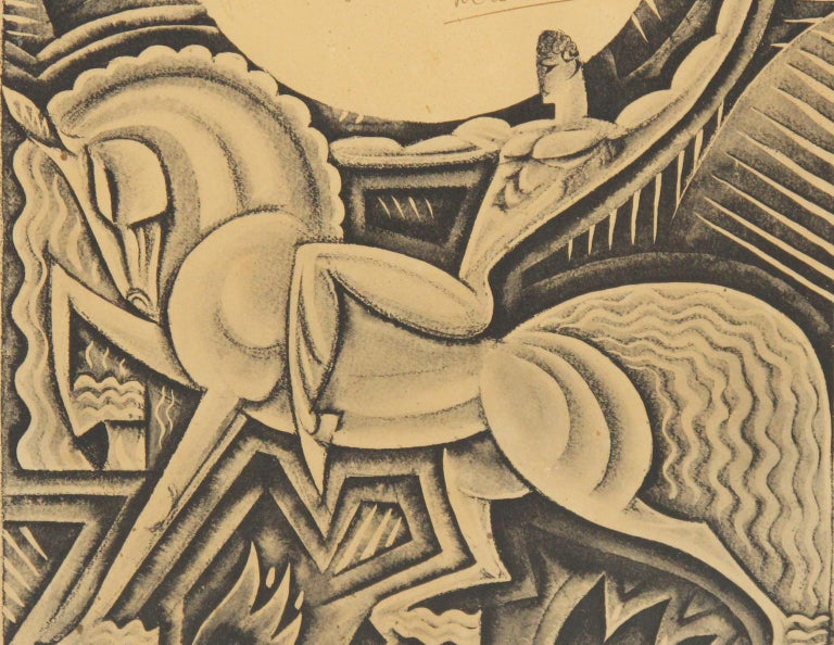 Maurice Picaud Aka Pico French Automobile Memorabilia Art Deco Magazine Print 6