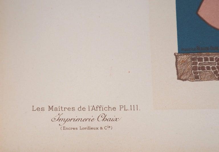 Champagne Jules Mumm - Original lithograph (Les Maîtres de l'Affiche), 1897 For Sale 2