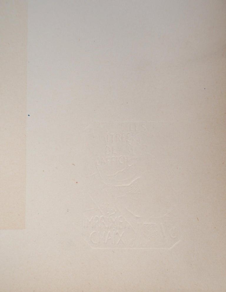 Champagne Jules Mumm - Original lithograph (Les Maîtres de l'Affiche), 1897 For Sale 3