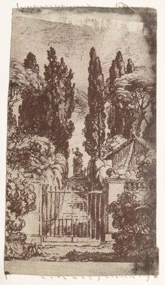 Untitled, Vintage Print on Fabric