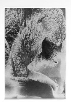 Untitled (Solarized Double Exposure), Framed Solarized Vintage Print