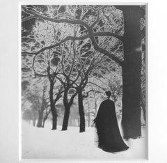 Untitled ( Solarized Landscape), Framed Vintage Print