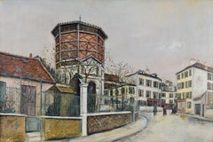 Place Jean-Baptise-Clément By Maurice Utrillo - School of Paris oil painting