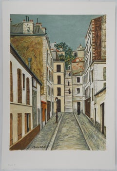 Cottin Alley in Paris - Lithograph