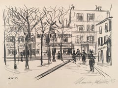 Maurice Utrillo Lithograph