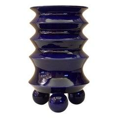 Mauricio Paniagua y Tony Moxham Contemporary Design Blue Urn Vase