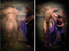 Untitled II and III, Diptych, Half Angels Half Demons