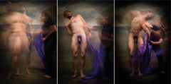 Untitled II, V and III, Triptych, Half Angels Half Demons