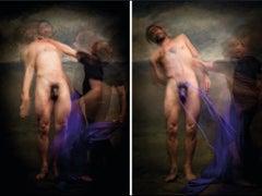 Untitled IV and V, Diptych, Half Angels Half Demons