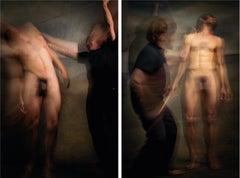 Untitled VI and IX, Diptych, Half Angels Half Demons