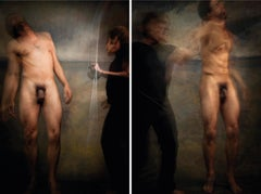 Untitled VII and XI, Diptych, Half Angels Half Demons