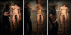 Untitled X, XI and IX, Triptych, Half Angels Half Demons