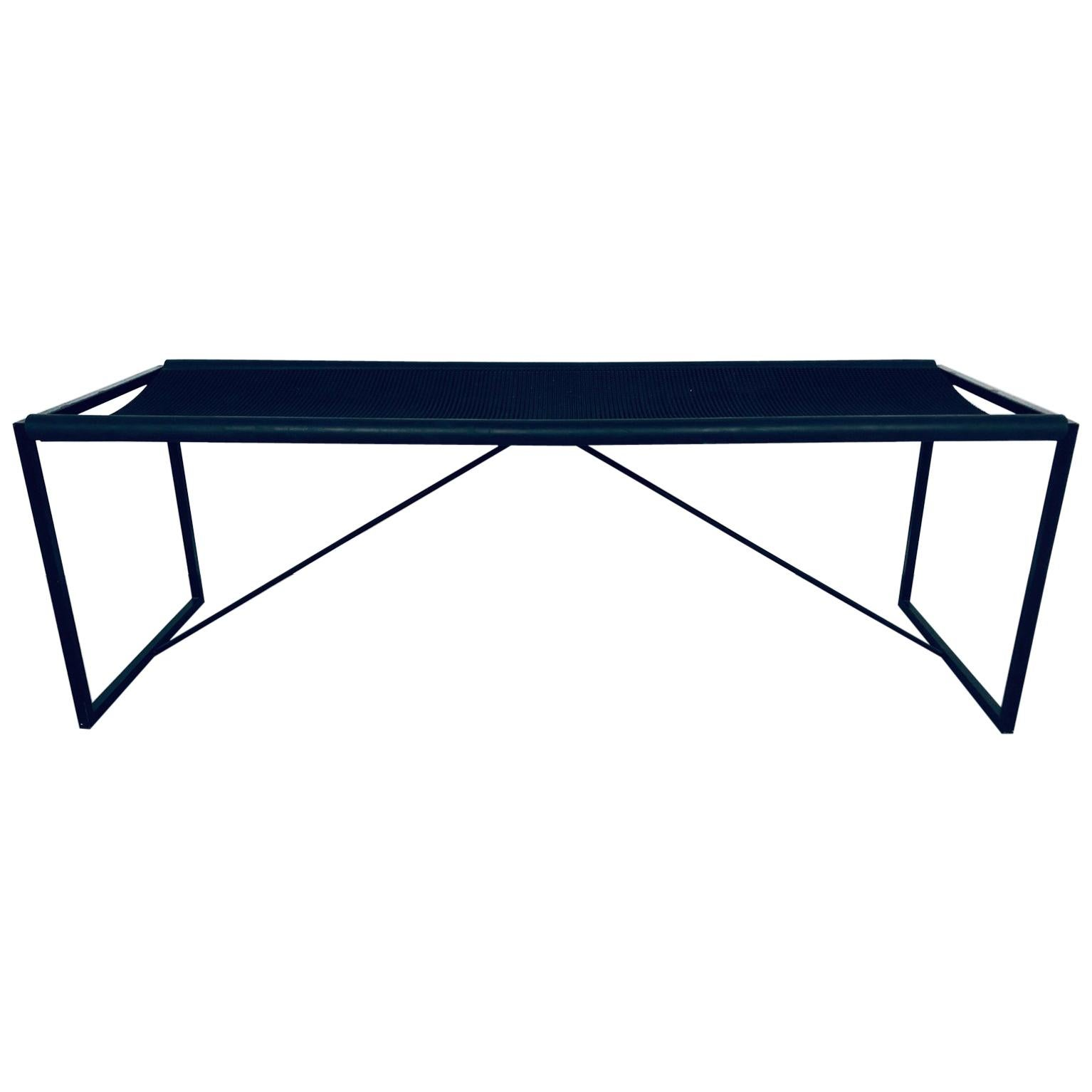 Maurizio Peregalli Modernist Bench for Zues, Italy, 1980s