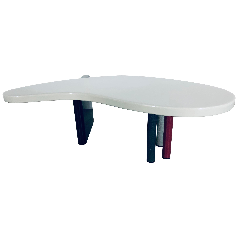"""Maurizio Salvato """"Nuvole"""" Boomerang Table for Saporiti"""