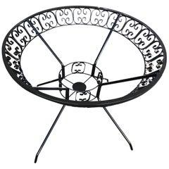 Maurizio Tempestini Designed Patio/Outdoor Ribbon Picnic Table for Salterini