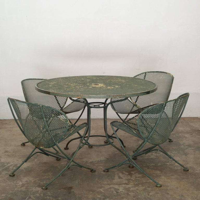 Maurizio Tempestini for Salterini Midcentury Patio Set, circa 1950 For Sale 4