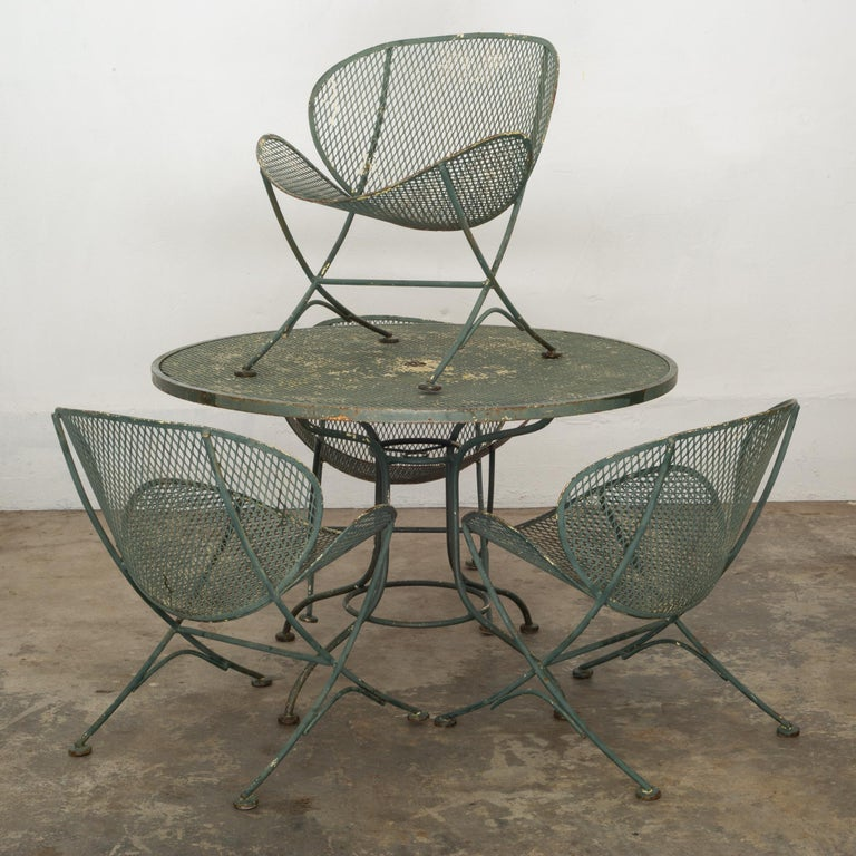 Maurizio Tempestini for Salterini Midcentury Patio Set, circa 1950 For Sale 5