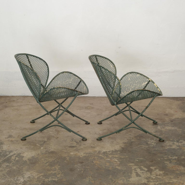 Mid-Century Modern Maurizio Tempestini for Salterini Midcentury Patio Set, circa 1950 For Sale