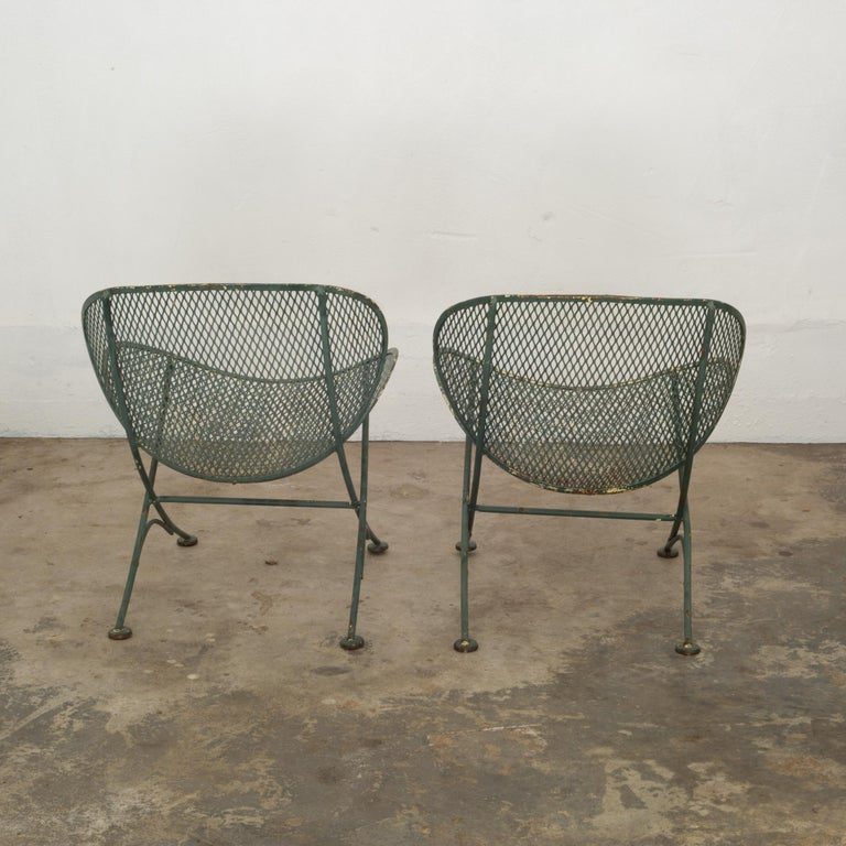 American Maurizio Tempestini for Salterini Midcentury Patio Set, circa 1950 For Sale