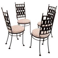 Maurizio Tempestini Iron Garden or Dining Chairs