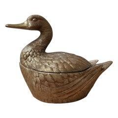 Mauro Manetti Italian Mid-Century Duck Ice Bucket