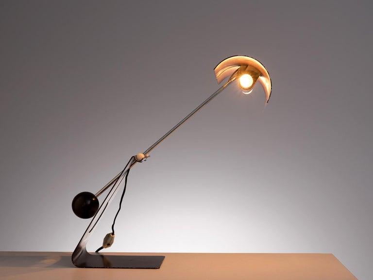 Mauro Martini for Fratelli 'Picchio' Table Lamp For Sale 1