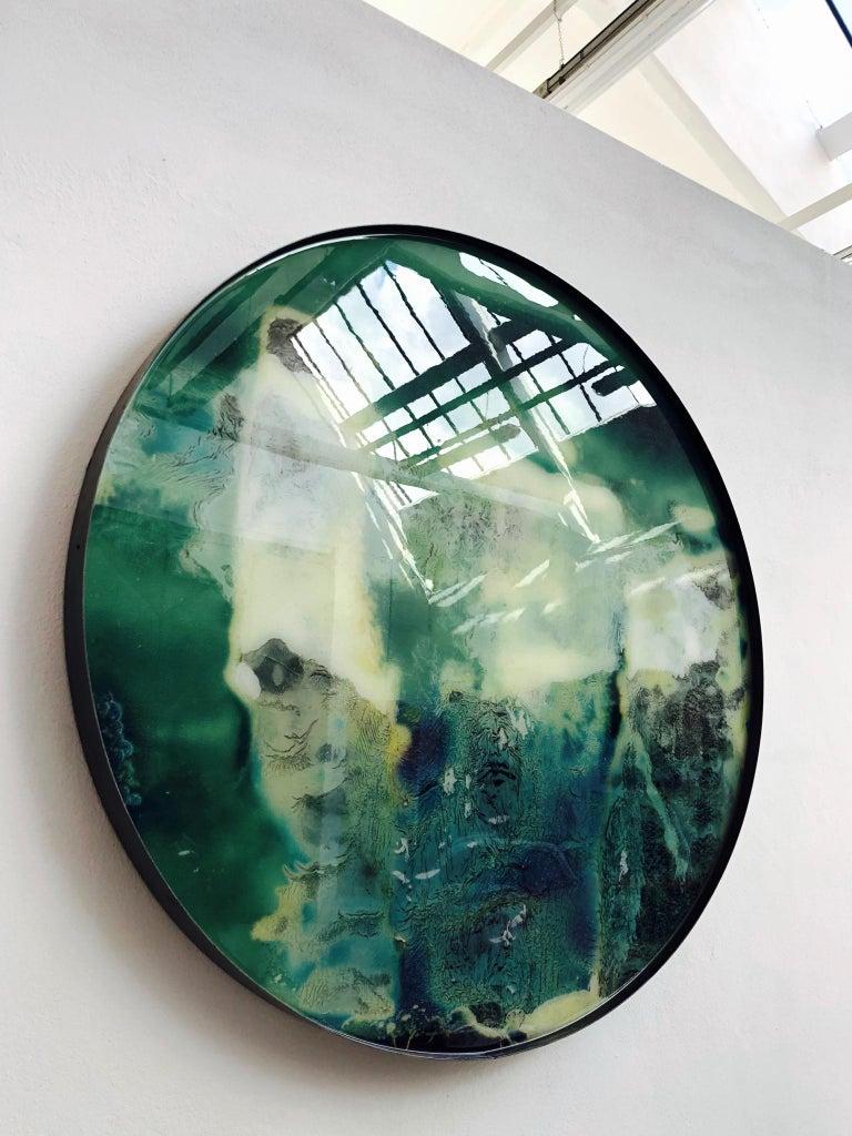 Modern Mauro Moriconi Tondo 023 Artwork, 2019 For Sale