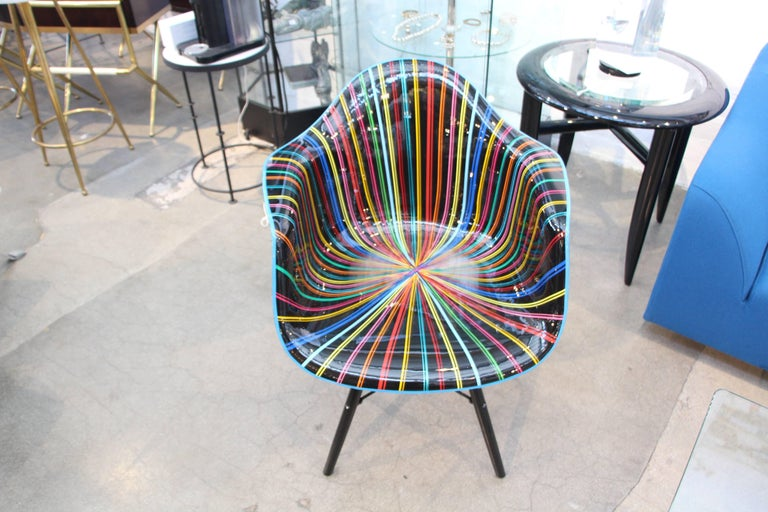 Mauro Oliveira Decorated Chair For Sale 1