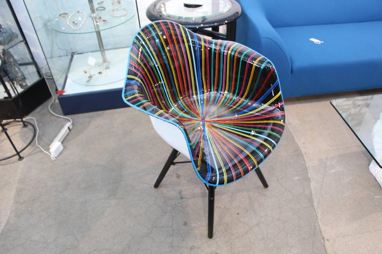 Mauro Oliveira Decorated Chair For Sale 2