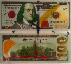 DIRTY CASH - MONEY TALKS (Original Mixed Media Artwork)