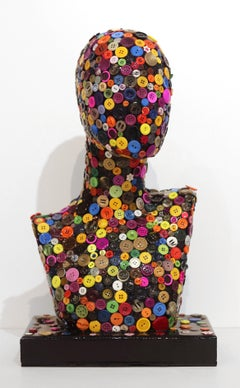 Fashionista II - Colorful Mixed Media Artwork